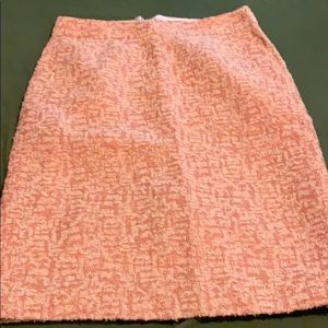 J crew blush skirt size 4 preowned